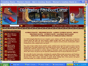 Old Trading Post Boot Corral