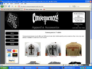 Consequences Apparel and Accessories