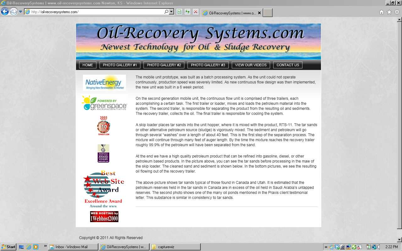 Oil-recovey Systems