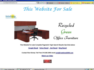 Recycled Green Office Furniture